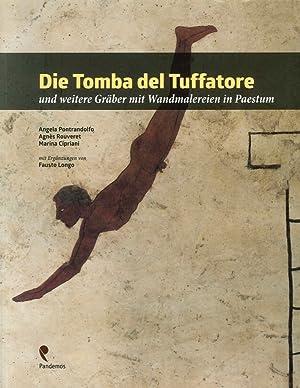 Die Tomba del Tuffatore und weitere Graber mit Wandmalereien in Paestum.