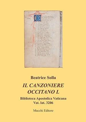 Il canzoniere occitano L. Biblioteca apostolica vaticana Vat. lat. 3206.: Solla Beatrice