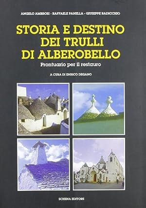 Storia e destino dei Trulli di Alberobello. Prontuario per il restauro.: Ambrosi, Angelo Panella, ...