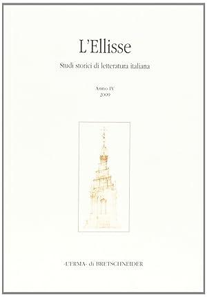 L'Ellisse. Studi storici di letteratura italiana. Vol.: Campanelli, Maurizio Russo,
