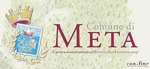 Comune di Meta. Cartina storico turisticaHistorical and touristic map.: Fienga Andrea