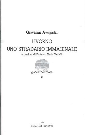 Livorno uno stradario immaginale.: Avogadri, Giovanni
