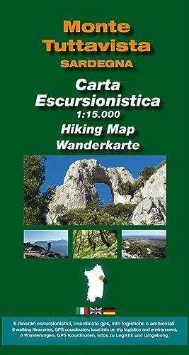 Carta Escursionistica Monte Tuttavista 1:15000.: Escursioni, Keya