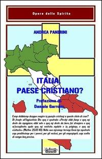 Italia paese cristiano?: Panerini, Andrea