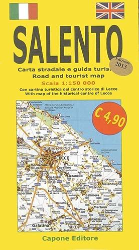 Salento. Carta Stradale e Guida Turistica 1:150.000. con Cartina Turistica del Centro Storico di ...