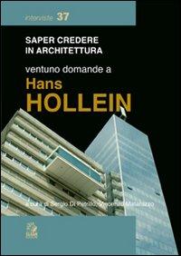 Ventuno domande a Hans Hollein.