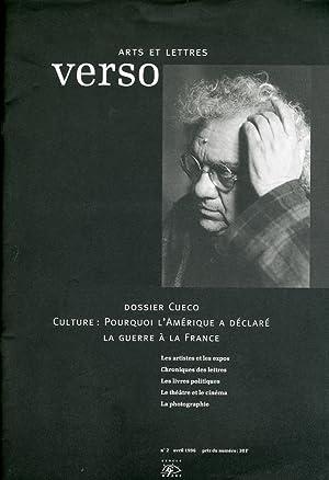 Arts et letters. Verso. 2. 1996. April.