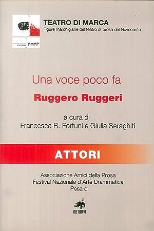 Una voce poco fa, Ruggero Ruggeri.: aa.vv.