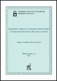 Measuring Human and Sustenable Development: An Integrated Approach For European Countries.: ...