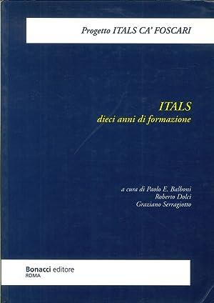 ITALS. Dieci anni di formazione e ricerca.