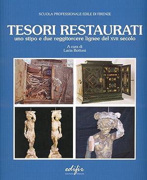Tesori Restaurati. Uno Stipo e Due Reggitorcere Lignee del XVII Secolo.