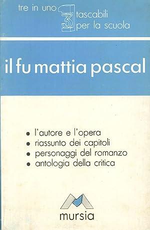 Il fu Mattia Pascal: Zingo, Lorenzo