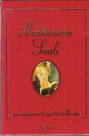 Meditazioni serali.: Fava, Franco Battistelli, Silvia