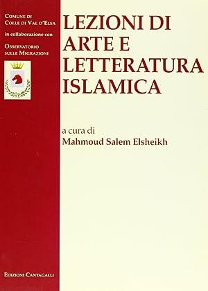 Lezioni di arte e letteratura islamica.