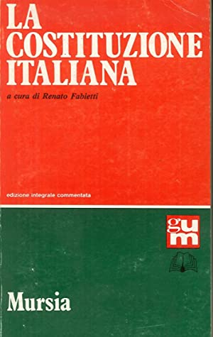 La costituzione italiana.