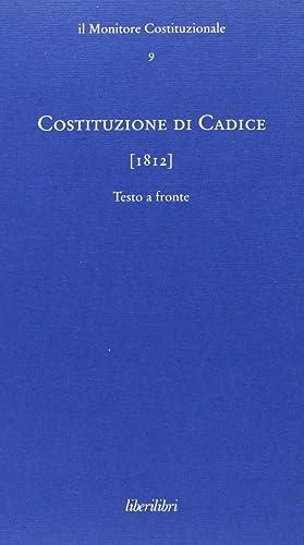 Costituzione di Cadice (1812).