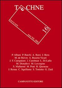 Techne. Vol. 16.