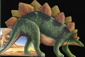 Lo stegosauro. Libro sagomato.
