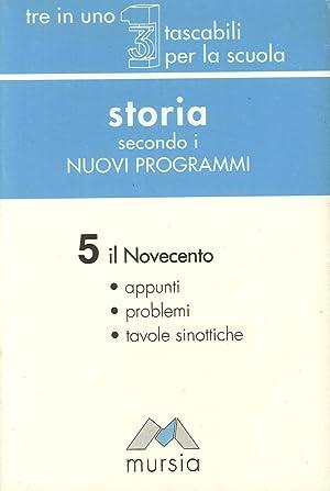 Storia secondo i nuovi programmi. 5.