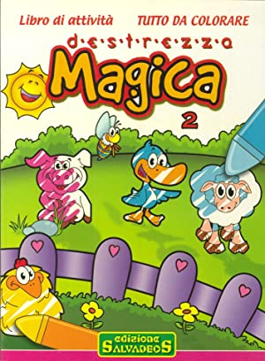 Destrezza magica 2. Libro da colorare.