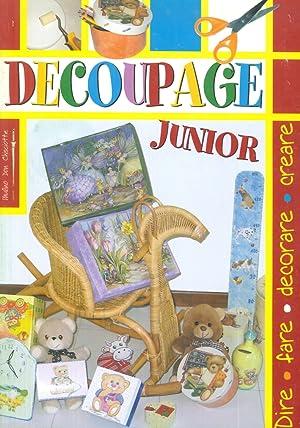 Decoupage junior.