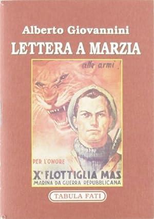 Lettera a Marzia.: Giovannini, Alberto