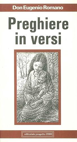 Preghiere in versi.: Romano, Eugenio