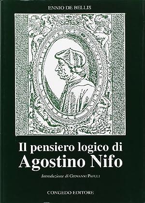 Il pensiero logico di Agostino Nifo.: De, Bellis, Ennio