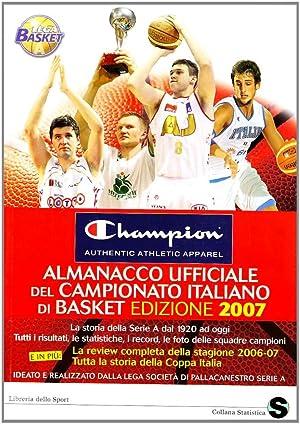 Almanacco ufficiale del campionato italiano di basket.