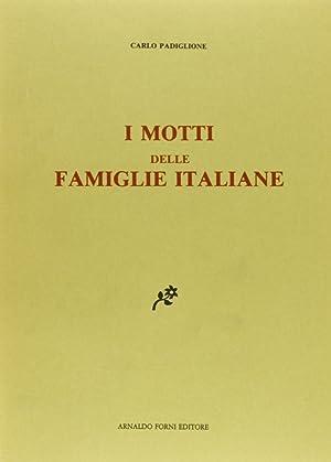 I Motti delle Famiglie Italiane.: Padiglione, Carlo