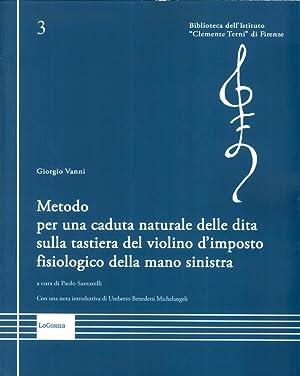 Metodo per una Caduta Naturale delle Dita sulla Tastiera del Violino d'Imposto Fisiologico ...