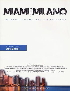 Miami Meets Milano. International Art Exhibition.