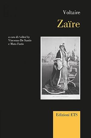 Zaire. Ediz. Italiana, Francese e Inglese.: Voltaire