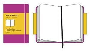 Moleskine Extra Small Plain Notebook Magenta Hard.