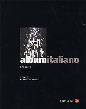 Album Italiano. III. Fine Secolo.
