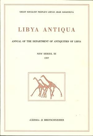 Libya Antiqua. Nuova Serie. Vol. 3: Great