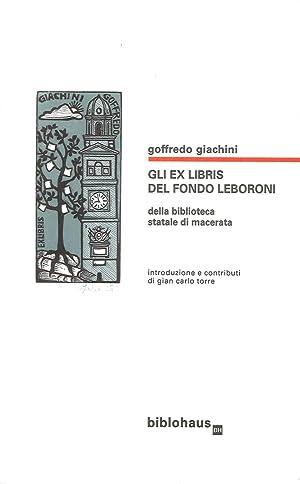 Gli Exlibris del Fondo Leboroni della Biblioteca: Giachini Goffredo Torre