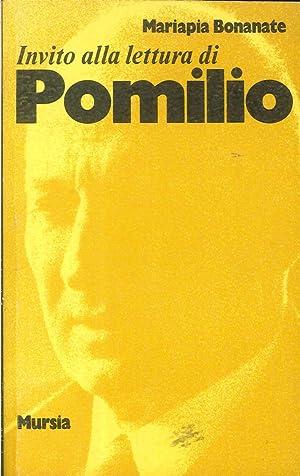 Invito alla lettura di Pomilio.: Bonanate, Mariapia