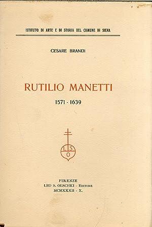 Rutilio Manetti, 1571-1639.: Brandi, Cesare