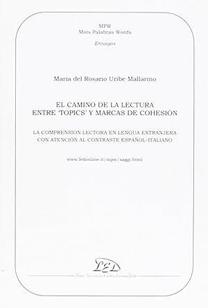 "Camino de la lectura entre ""topics"" y: Uribe Mallarino, Maria"