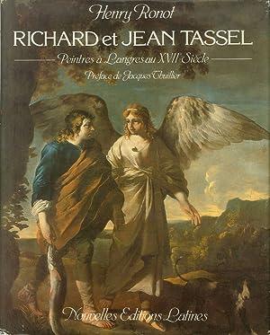 Richard et Jean Tassel. Peintre a Langres: Ronot, H