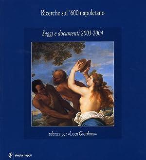 Ricerche sul '600 napoletano. Saggi e documenti