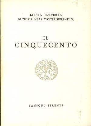 Libera Cattedra di Storia della Civiltà Fiorentina.: Libera Cattedra di