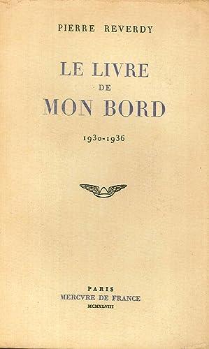 Le livre de mon bord 1930 1936.