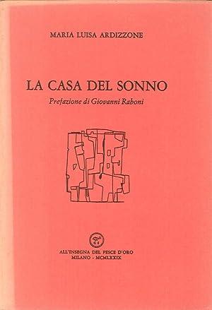 La Casa del Sonno: Maria Luisa Ardizzone