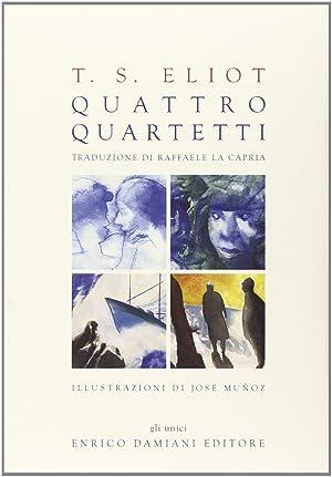 Quattro quartetti. Con CD Audio.: Eliot, Thomas S