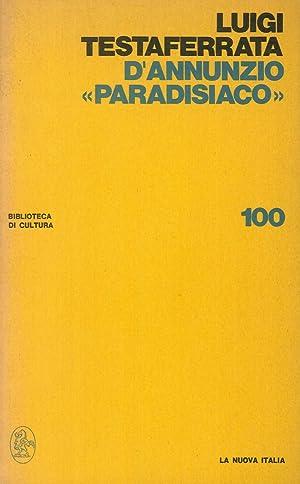 "D'Annunzio ""Paradisiaco"".: Luigi Testaferrata"
