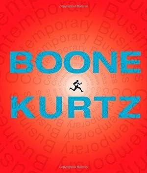 Contemporary Business. Boone Kurtz.