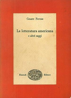 La Letteratura Americana e altri Saggi.: Pavese, Cesare