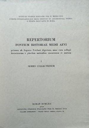 Repertorium fontium historiae Medii Aevi. Vol. 1.